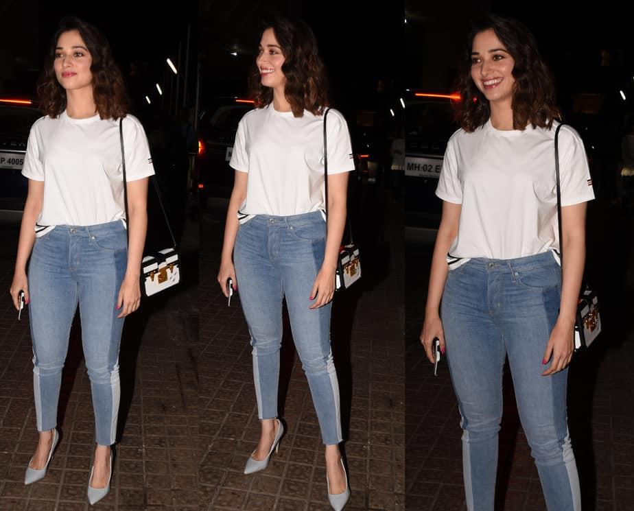 tamannaah in jeans