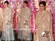 twinkle khanna at akash ambani reception