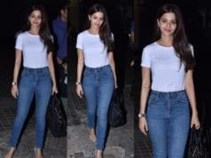 vedhika in jeans