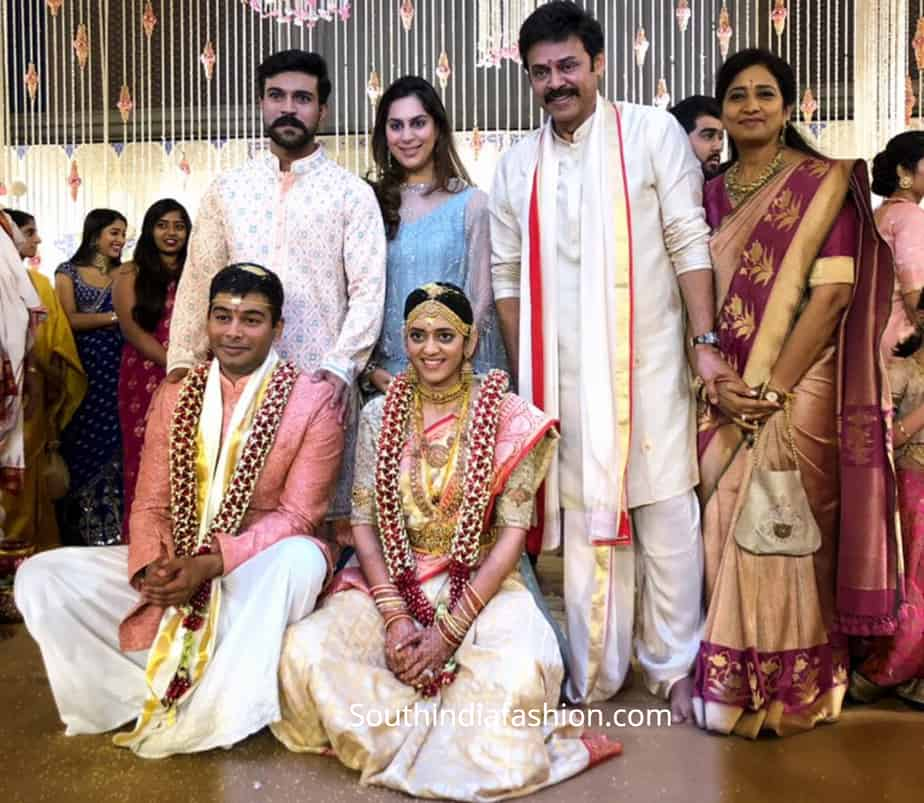 venkatesh daughter aashritha marriage photos