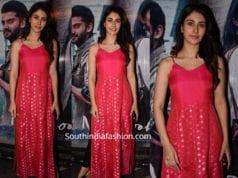 warina hussain in pink kurta at notebook screening