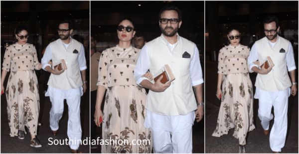 Saif and Kareena's Royal Look