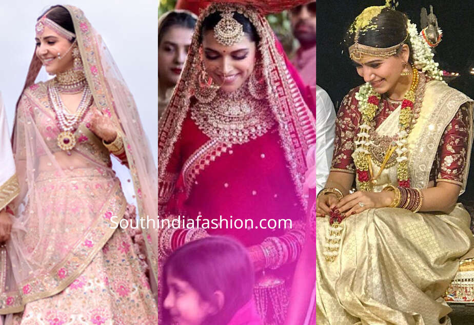 CELEBRITY SABYASACHI BRIDES