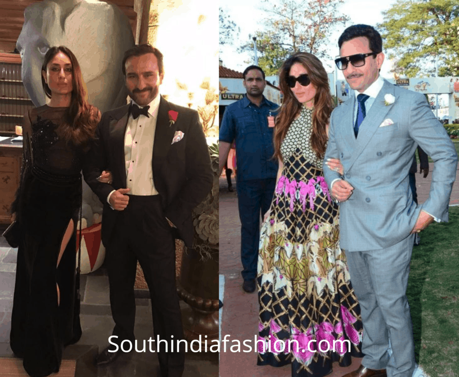Saif and Kareena's Regal and Royal Look
