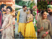 Color Coordinate your Wedding Outfits