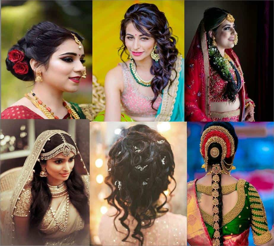 Bridal Hairstyles For Hair Of Any Length Indian Wedding Hairstyles