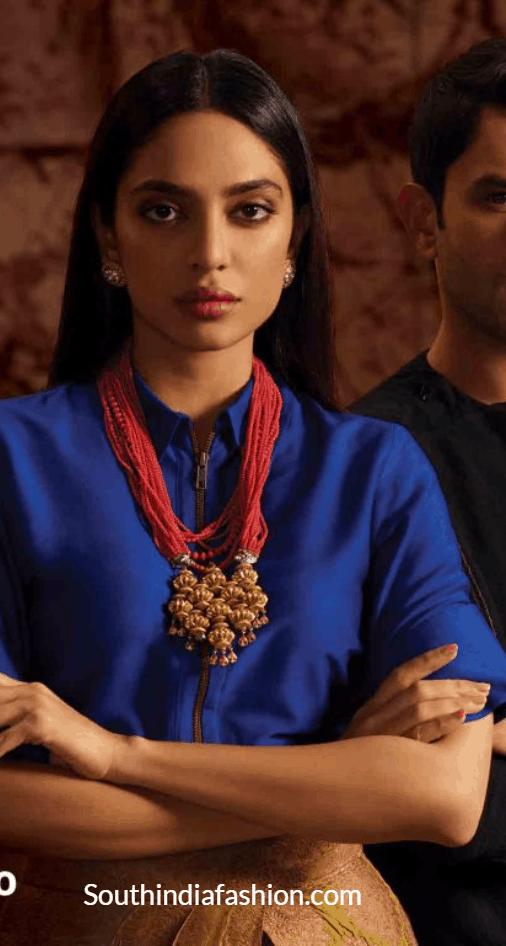 made in heaven sobhita dhulipala costumes , dresses, sarees