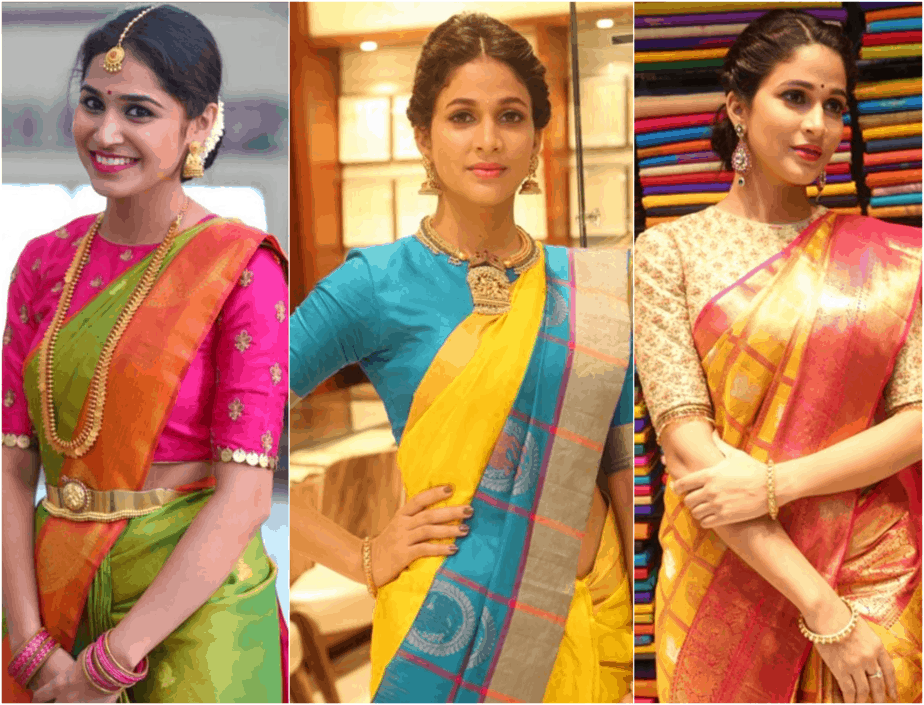 Blouse Patterns for your Evergreen Silk Sarees