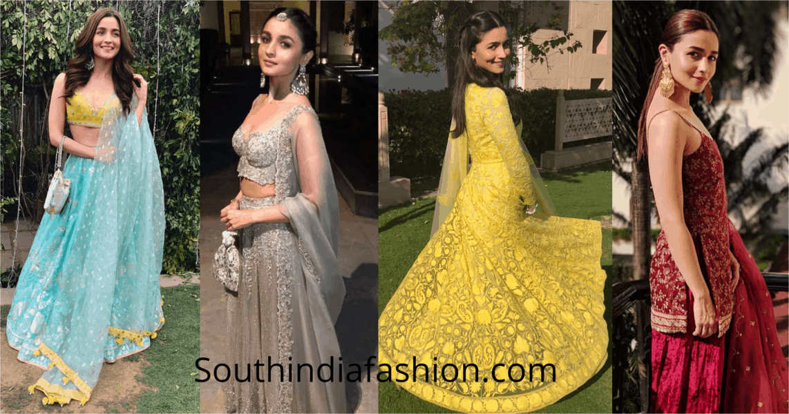 Take Cues from Alia Bhatt on How to Dress up for your BFF's Wedding