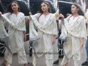 alia bhatt white palazzo suit