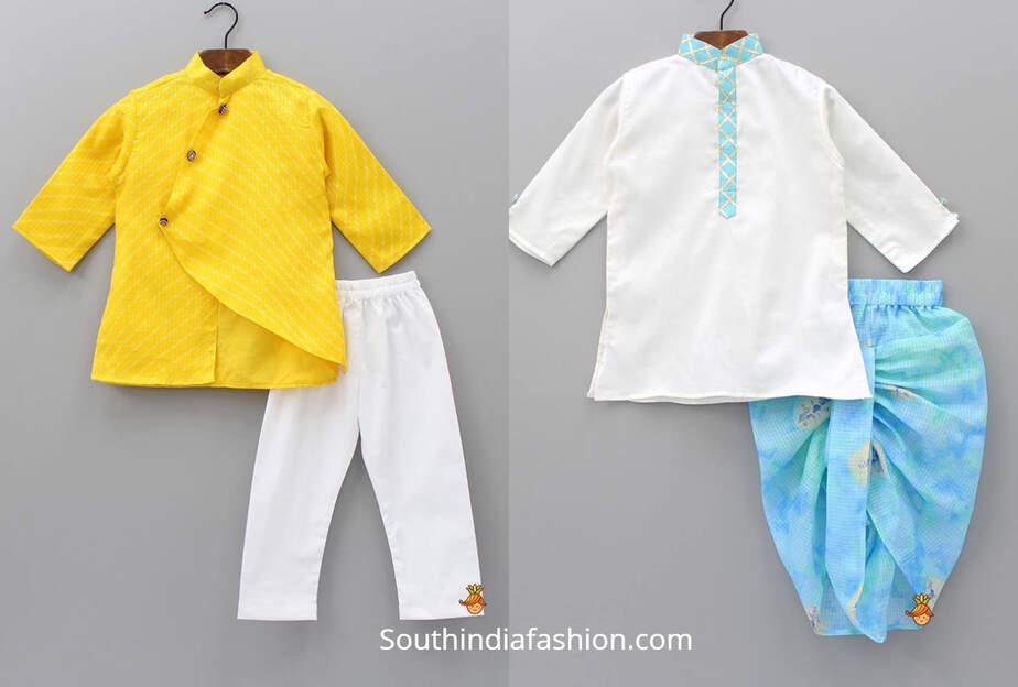 indian boys indo western dresses
