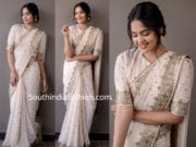 bindu madhavi in white saree