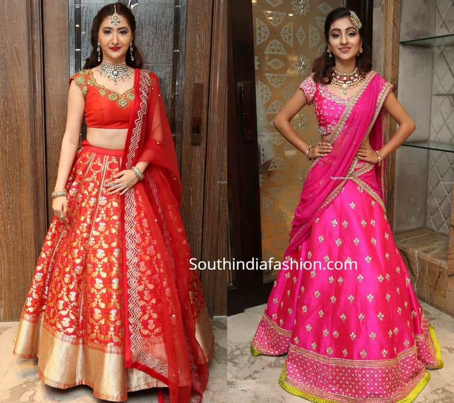 bridal lehengas by mugdha art studio