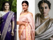 celebrities tilfi sarees