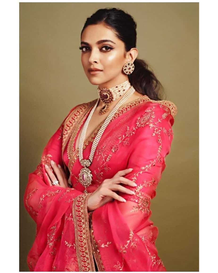 deepika padukone at ambani wedding