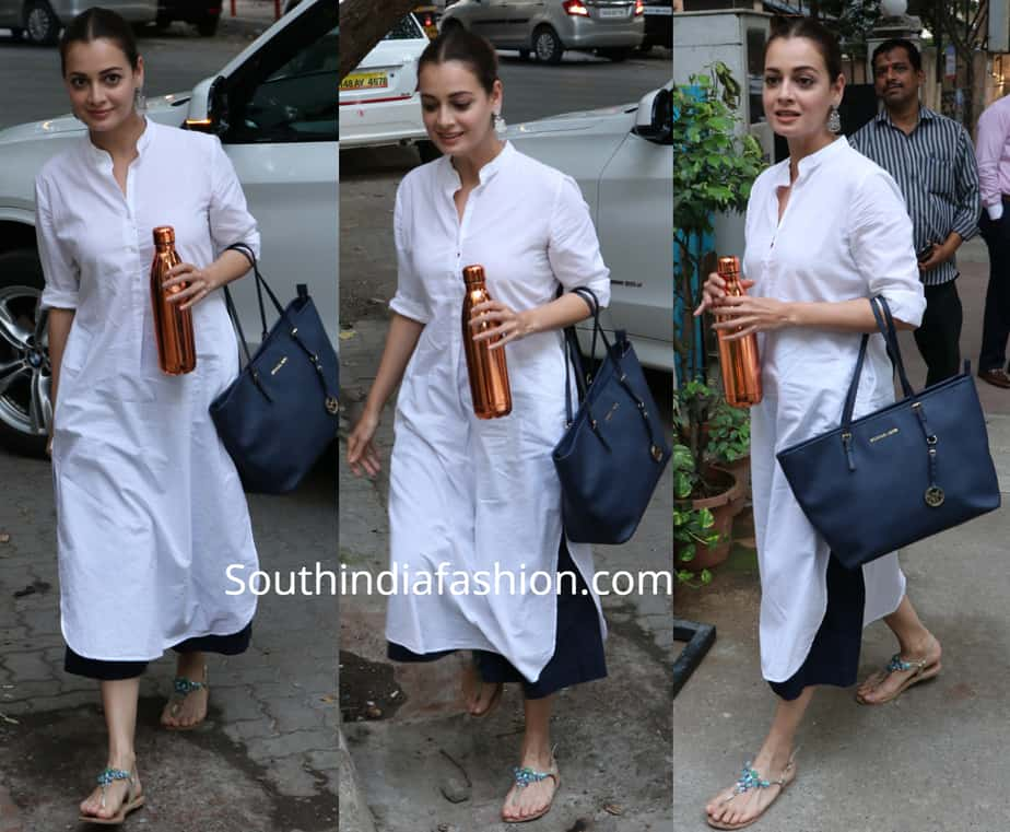 dia mirza casual look