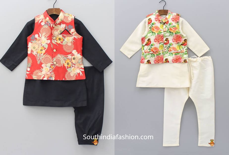 baby boy ethnic wear for parties