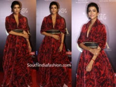 lakshmi manchu dress at critics choice film awards 2019