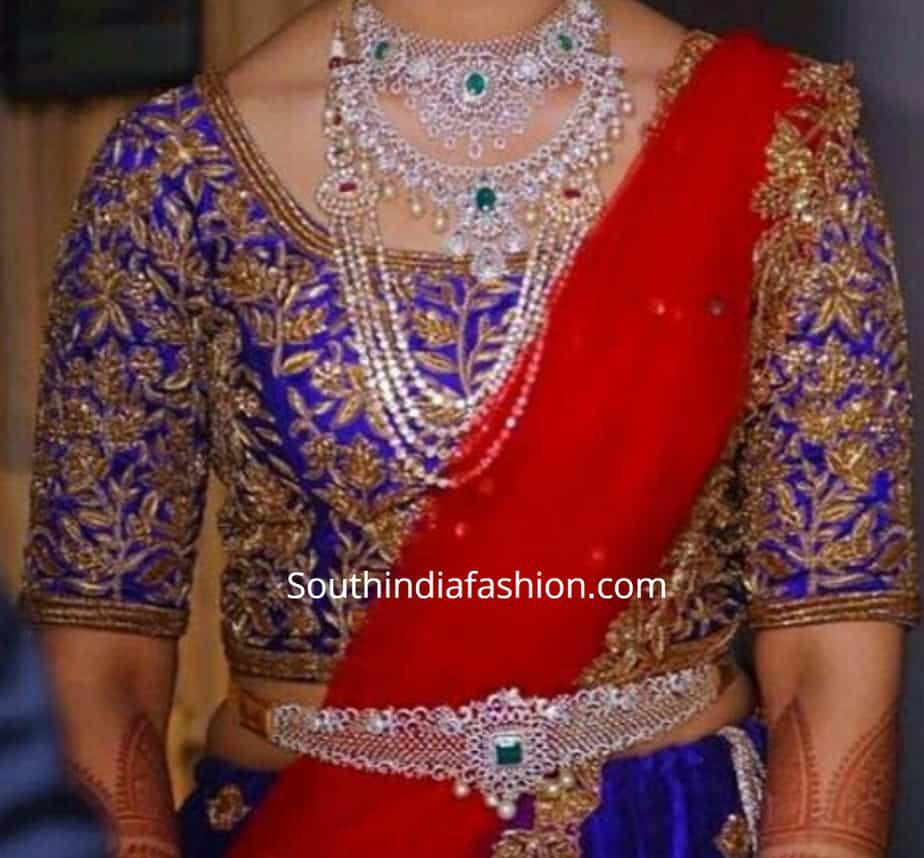 blouse designs for pattu half saree