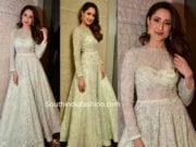 pragya jaiswal green anarkali at teach for change
