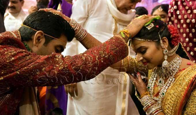ramoji rao grand daughter keerthi sohana wedding