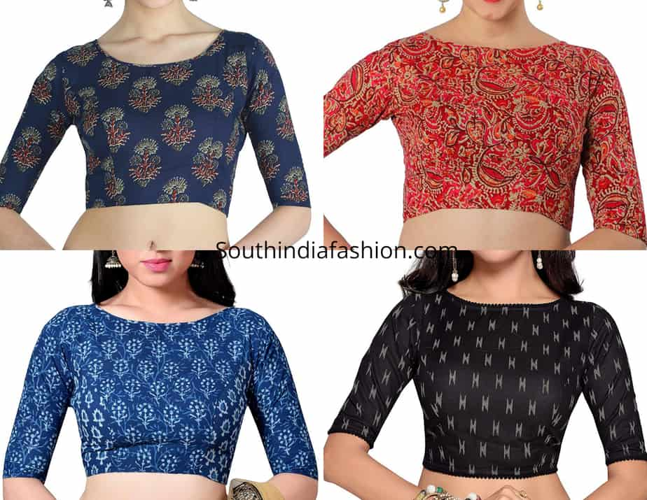 enjoy clearance price fashion style of 2019 hot sale Readymade printed cotton blouses - Shop Online! – South ...