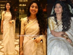 sai pallavi white saree at ngk trailer launch