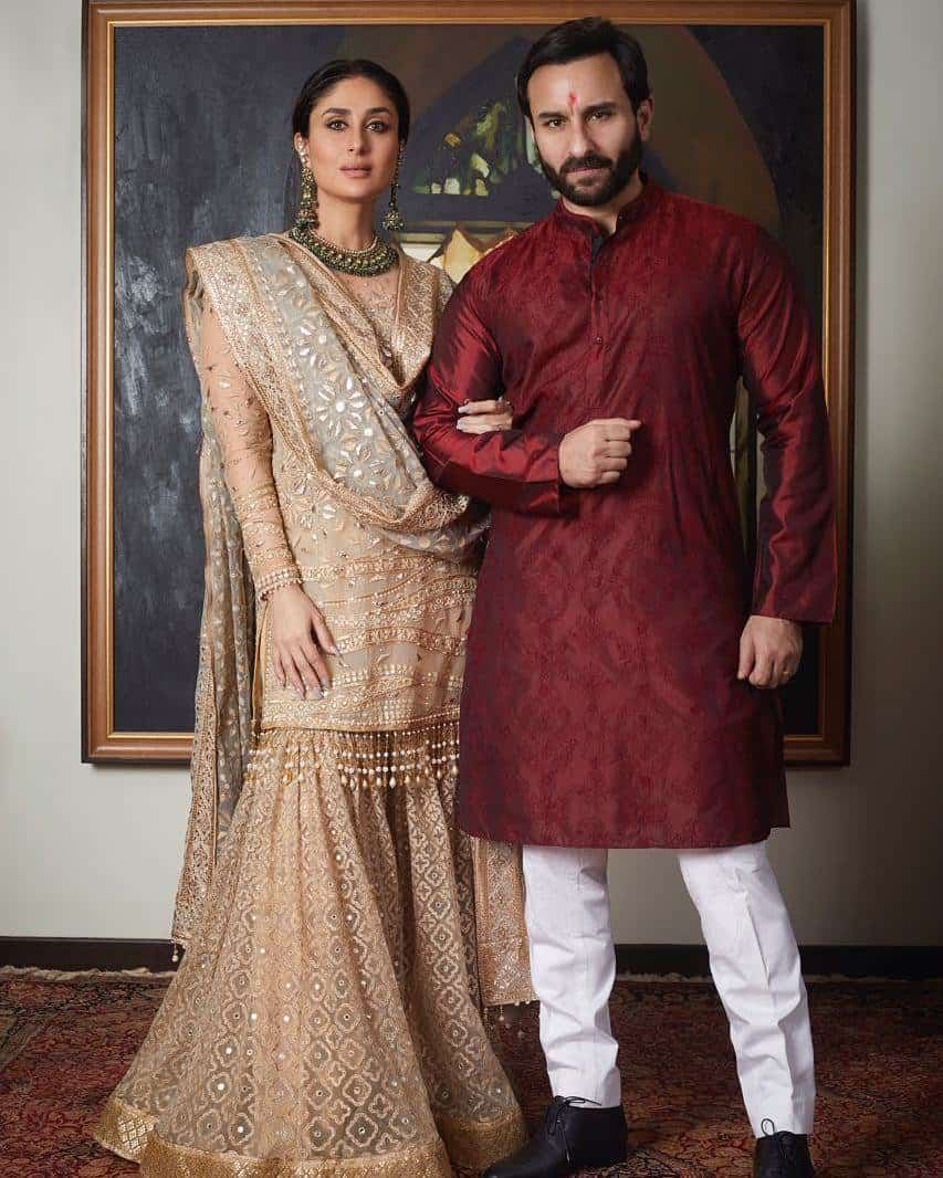 saif kareena ethnic wear