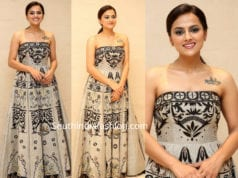 shraddha srinath at jersey thanks meet maxi dress