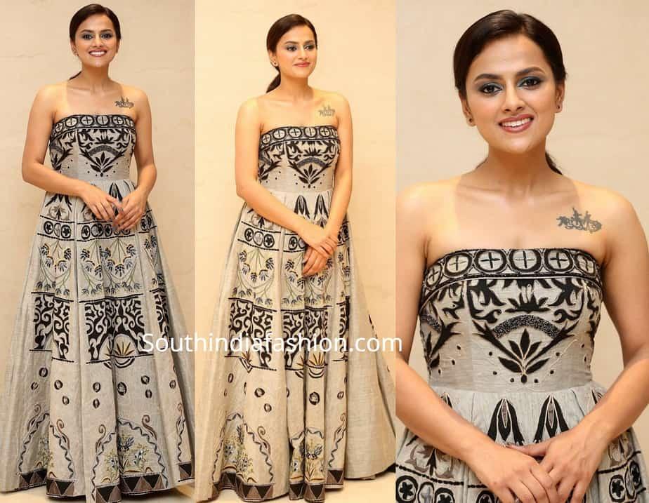 shraddha srinath at jersey thanks meet maxi dress