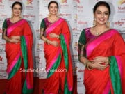 shrenu parikh silk saree