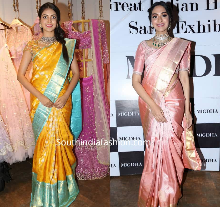 mugdha's silk sarees , pattu sarees, kanchipuram sarees
