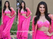 tara sutaria pink dress at student of the year song launch