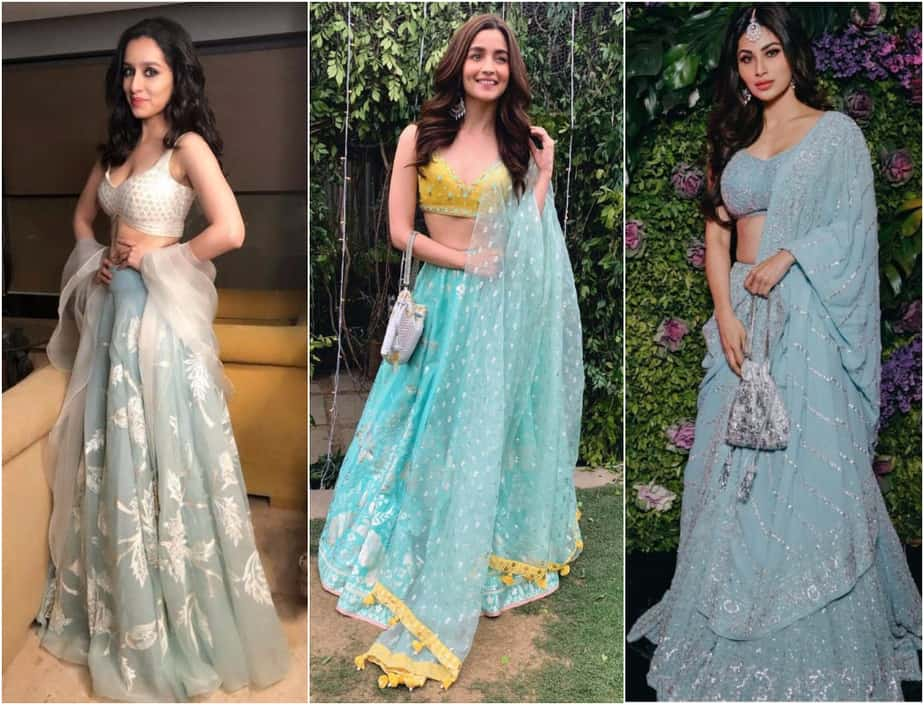 Pastel Blues - Here's How the Bollywood Actresses Wore the Color!