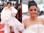 aishwarya white gown at cannes2019