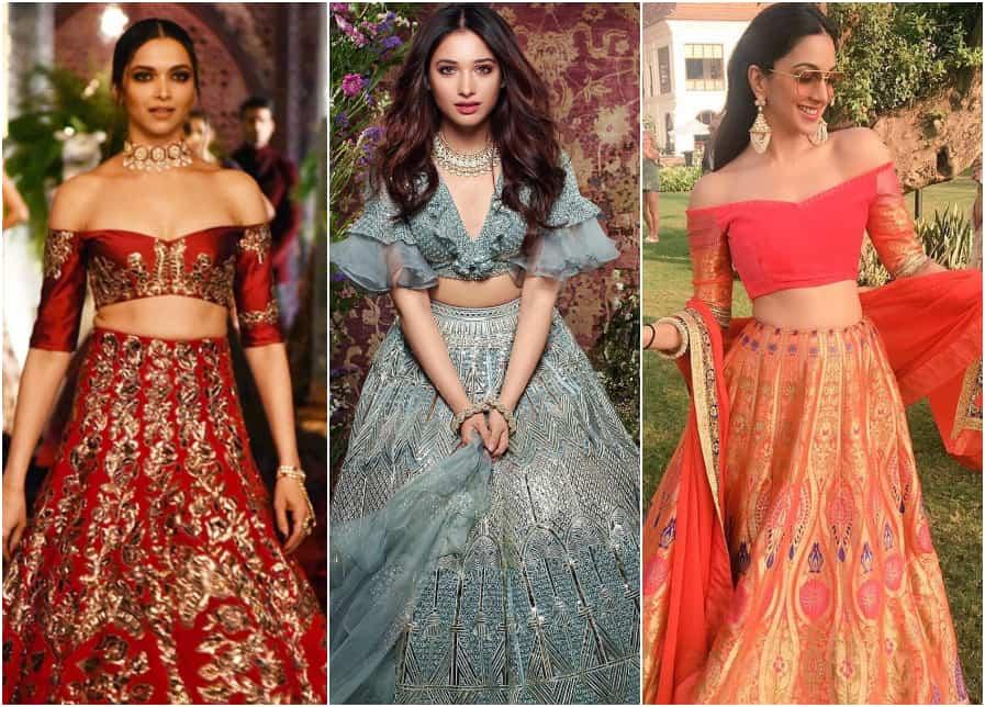Lehenga Blouse Patterns for Stylish Modern Brides