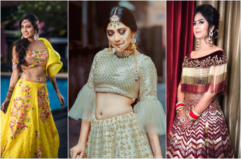 Lehenga Blouse Patterns for Stylish Modern Brides