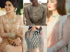 full sleeves embroidered blouse designs