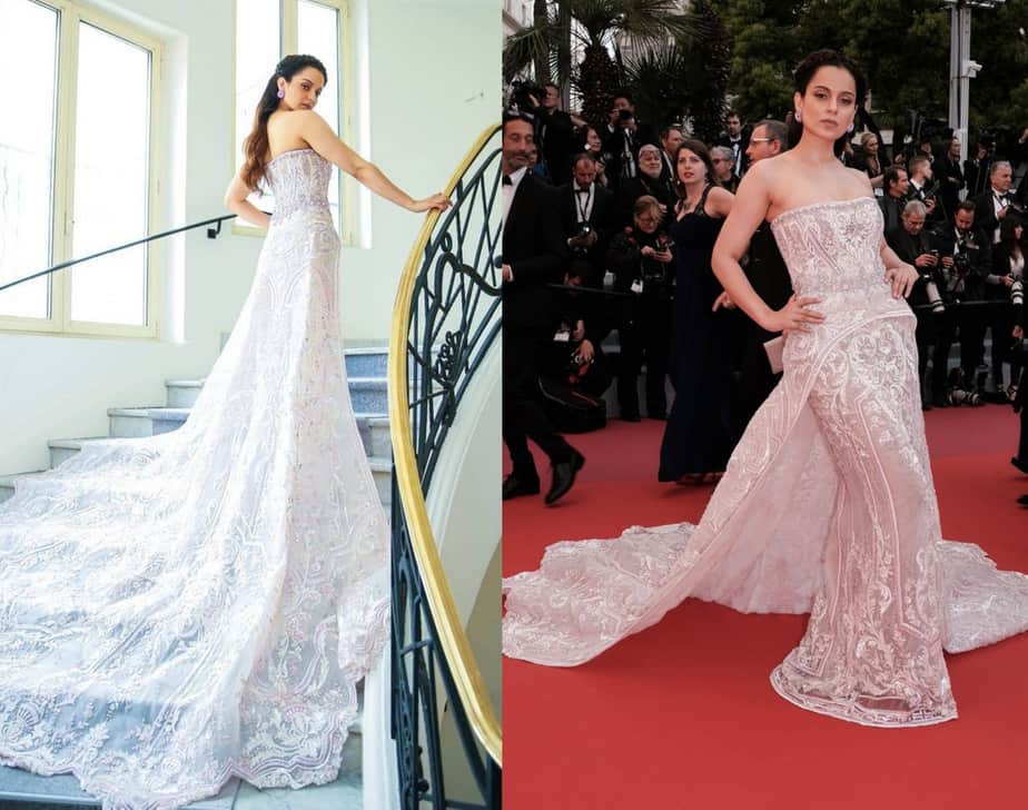 kangana ranaut gown at cannes