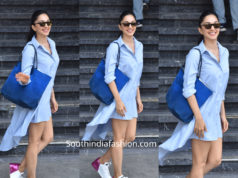 kiara advani shirt dress
