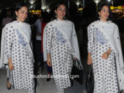 kiara advani white salwar suit