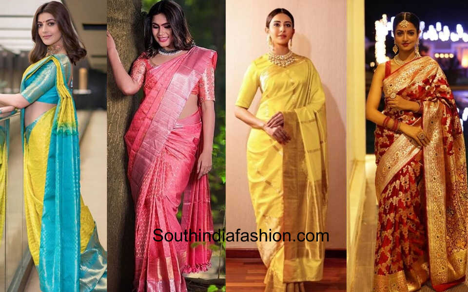 managaing silk sarees in summer