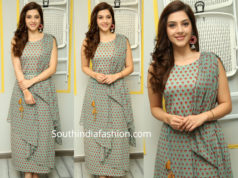 mehreen p[rinted maxi dress