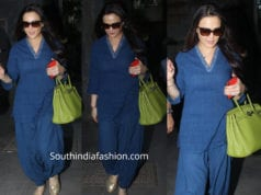 preity zinta casual blue kurta set