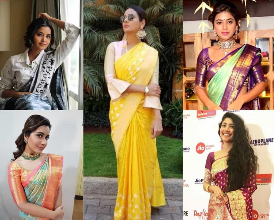 rare saree colors