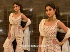shilpa shetty sharara suit