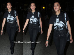shruti haasan airport