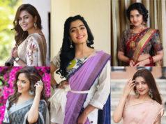 simple saree looks