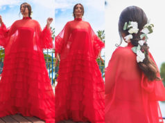 sonam kapoor red gown cannes 2019