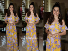 taapsee pannu masaba dress game over trailker launch